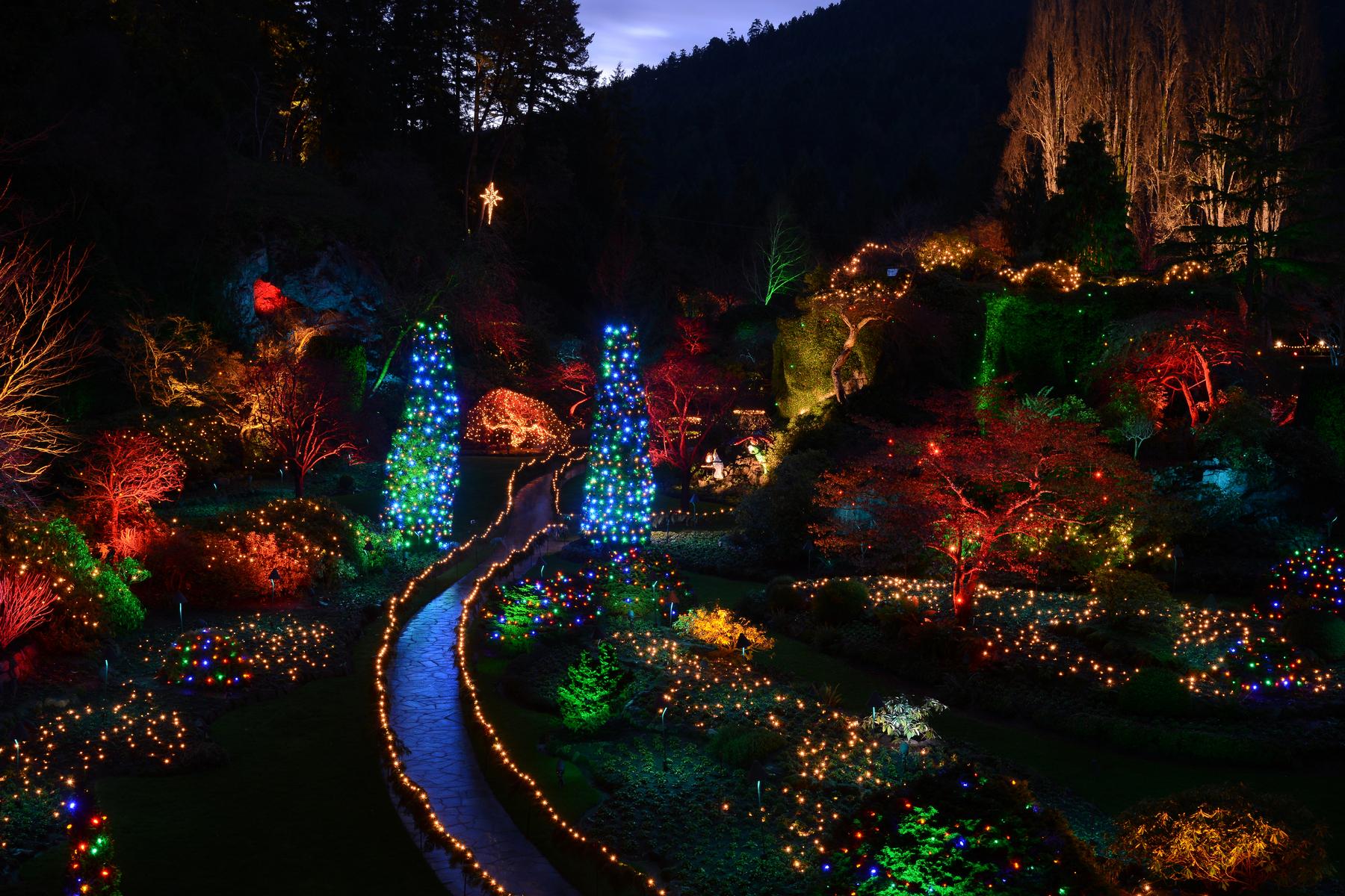 Butchart Gardens 12 Days Of Christmas