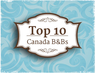 Abbeymoore recognized as onde of Canada's Top 10 B&B's